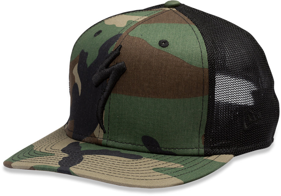 NEW ERA TRUCKER HAT S-LOGO OAKGRN OSFA