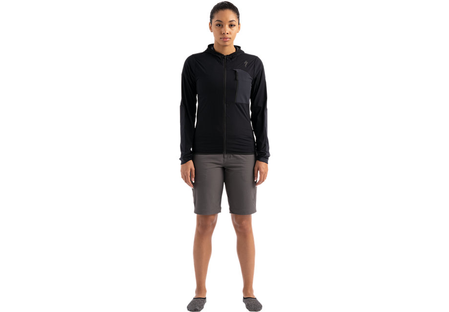 DEFLECT SWAT JACKET WMN BLK XS